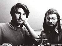 Steve Job and Woz